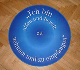 Power-Teppich BLAU