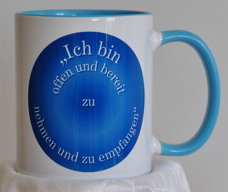 Power-Tasse BLAU